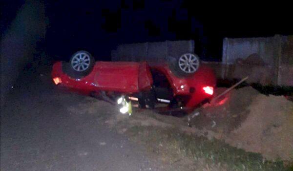 Accident rutier la Fetești
